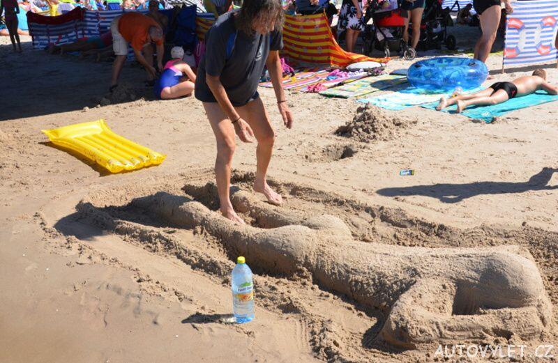 Socha z písku - Kolobřeh Polsko