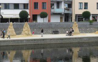 sochy z písku - Písek Cipískoviště