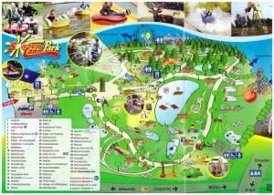 Sonnenlandpark Lichtenau - mapa