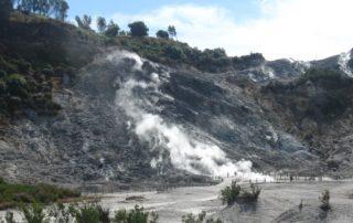 sopka solfatara itálie