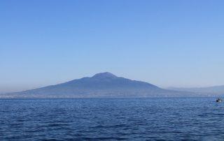 Sopka Vesuv Neapol Itálie