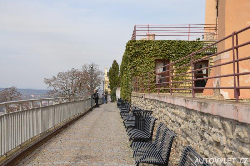 Soutok Vltavy a Labe - Mělník - lavičky