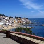 Město Callela ve španělské Costa del Maresme