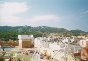 španělsko callela výhled na hotelový bazén fergus espanya a hory