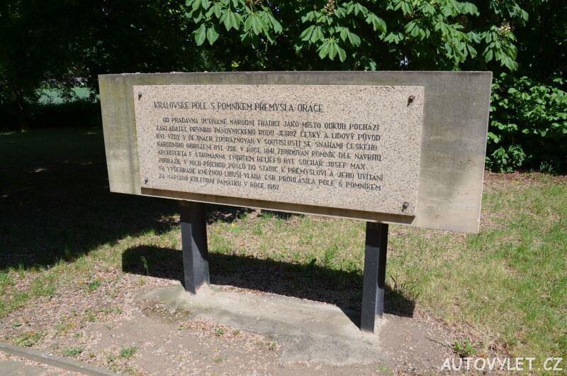 Pomník Přemysla Oráče - Stadice