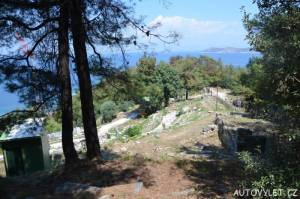 Starověké divadlo Thasos Řecko 2