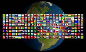 Státní vlajky států světa