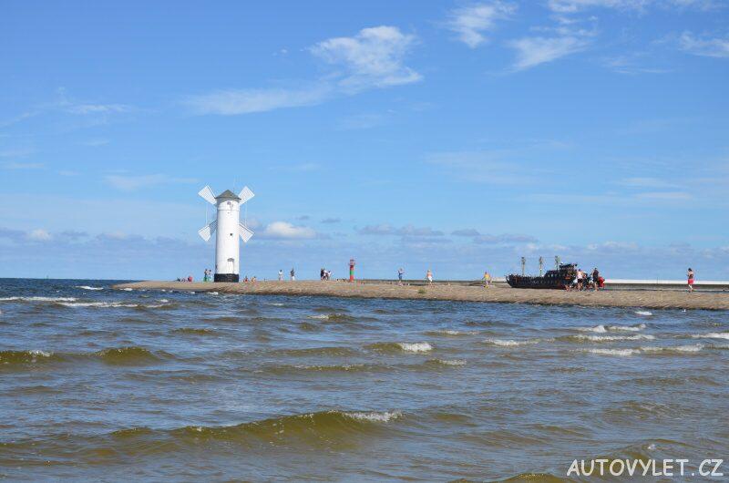 Stawa Mlyny - větrný mlýn Svinoústí Polsko 3