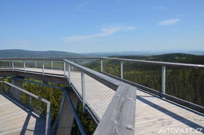 Stezka korunami stromů Krkonoše - vrchol