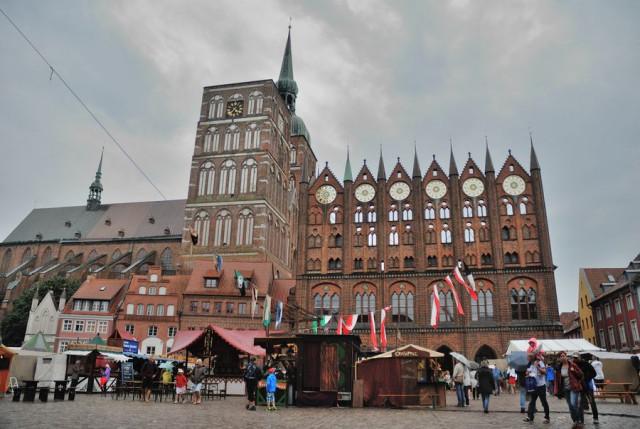 Stralsund Německo 02