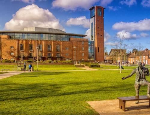 Stratford nad Avonou – město Williama Shakespeare