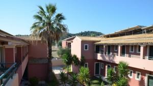summertime hotel sidari korfu řecko