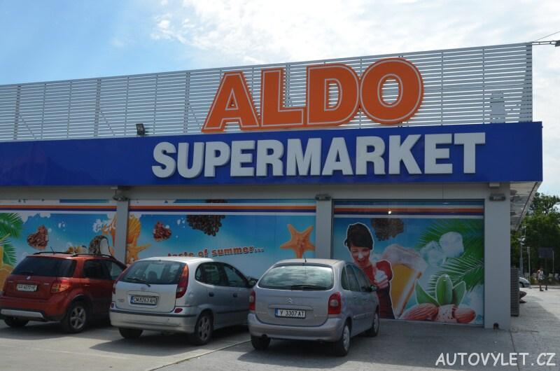 supermarket aldo sunny beach slunečné pobřeží bulharsko