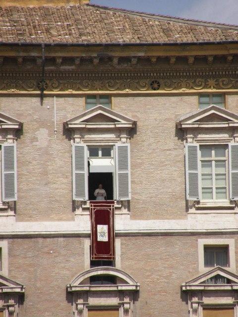 Svatopetrské náměstí - Řím Vatikán 2
