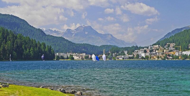 Svatý Mořic jezero