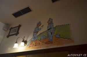Švejk Restaurant U Pětatřicátníků Plzeň 2