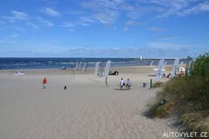 Svinoústí Polsko - pláž