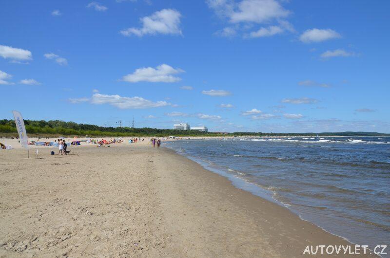 Svinoústí Polsko - pláž 2