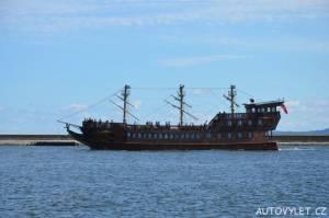 Svinoústí Polsko - výletní loď
