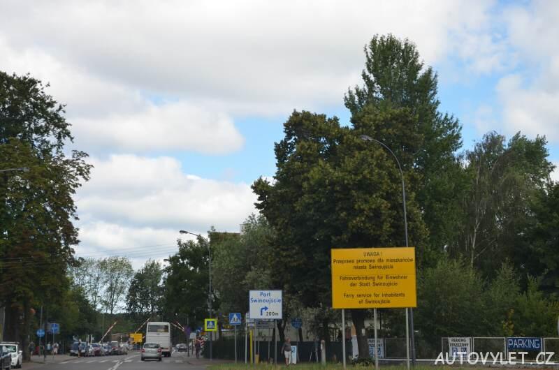 Swinoujscie přívoz Polsko