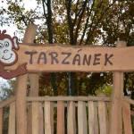 Tarzánek je nové lanové centrum v Ústí nad Labem