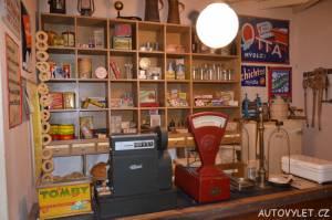 Technické muzeum Brno 18 - obchod koloniálním zbožím
