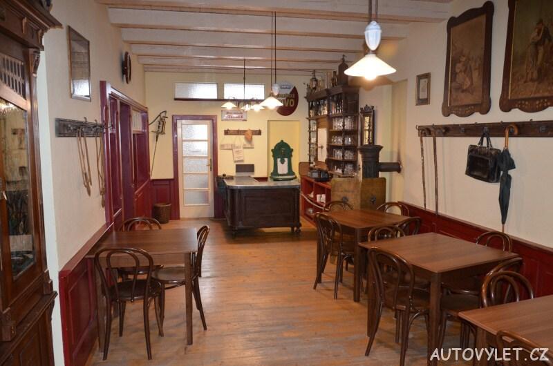 Technické muzeum Brno 19 - hospoda U Pavlišů - interiér