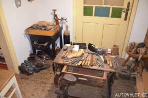 Technické muzeum Brno 21 - jak dříve pracoval švec