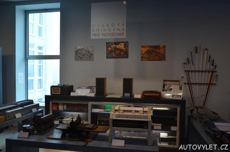 Technické muzeum Brno 23 - zvuková knihovna pro nevidomé