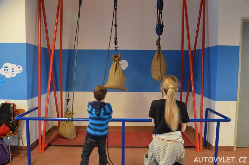 Technické muzeum Brno 30 - posilovna