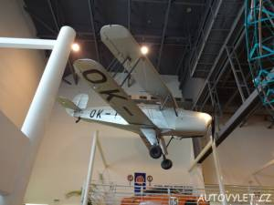 Technické muzeum Tatra Kopřivnice - dvojplošník t 131