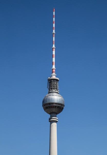 Televizní věž Berlín Německo