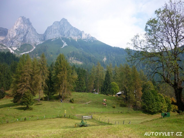 Tennengebirge Rakousko Alpy 6