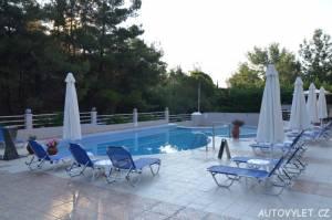 Green Bay Hotel Thassos Řecko - bazén