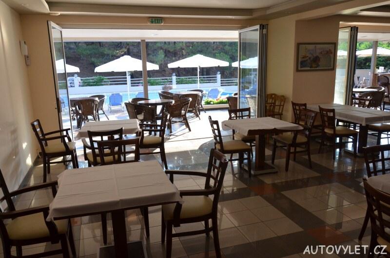 Thassos Green Bay Hotel Řecko - restaurace