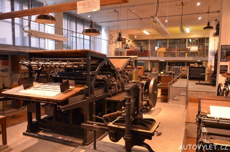 tiskařství v NTM