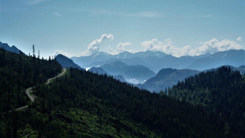 Totes Gebirge - Mrtvé hory Rakousko
