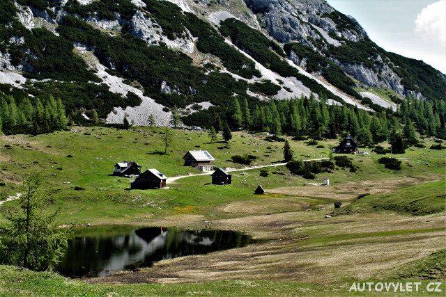 Totes Gebirge - Mrtvé hory Rakousko 2