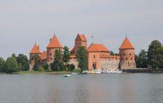 Trakai vodní hrad - Litva