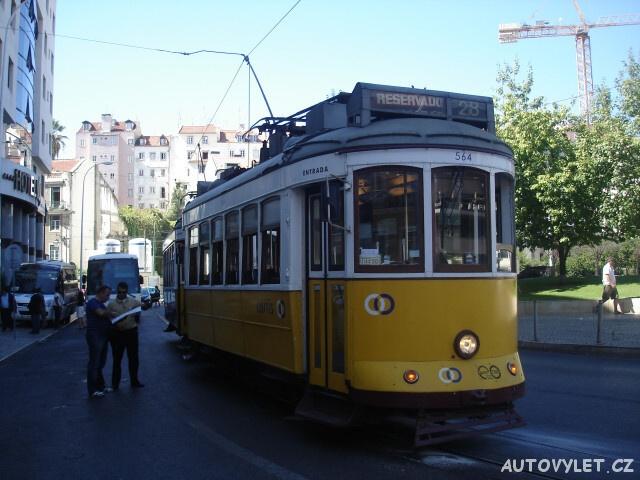 Tramvaj č.28 - Lisabon Portugalsko