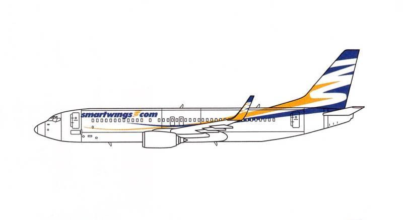 travel service smartwings letadlo