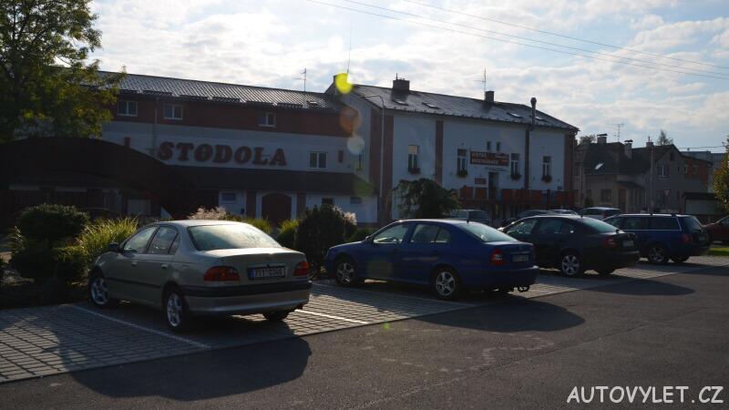 Třebovický mlýn pension hotel Ostrava parkoviště