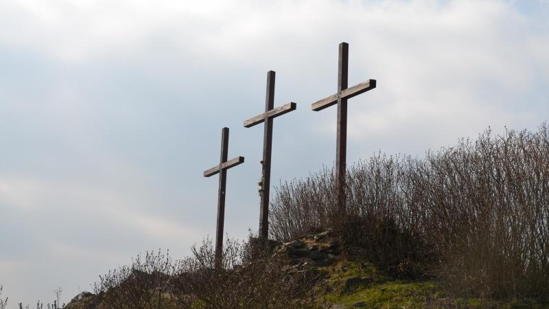 Vyhlídka Tři kříže - Kalvárie - Velké Žernoseky