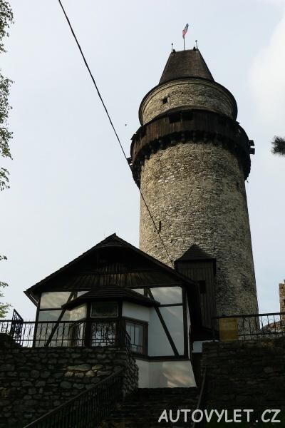 Trůba - věž Štramberk