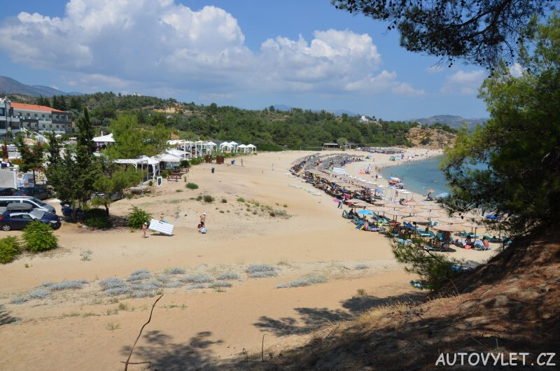 Trypiti beach - Limenaria Thassos Řecko