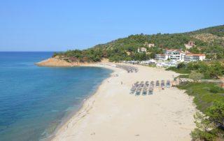 Trypiti beach Thassos Řecko