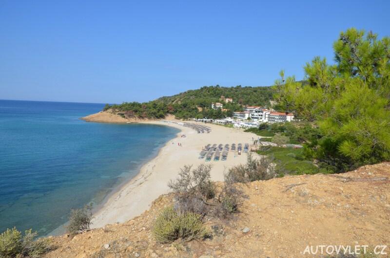 Trypiti beach Thassos Řecko 2