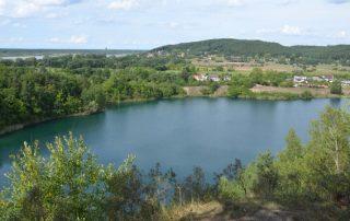 Tyrkysové jezero - Wapnica Polsko