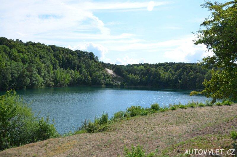 Tyrkysové jezero - Wapnica Polsko 2