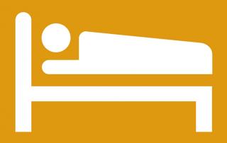 ubytování postel